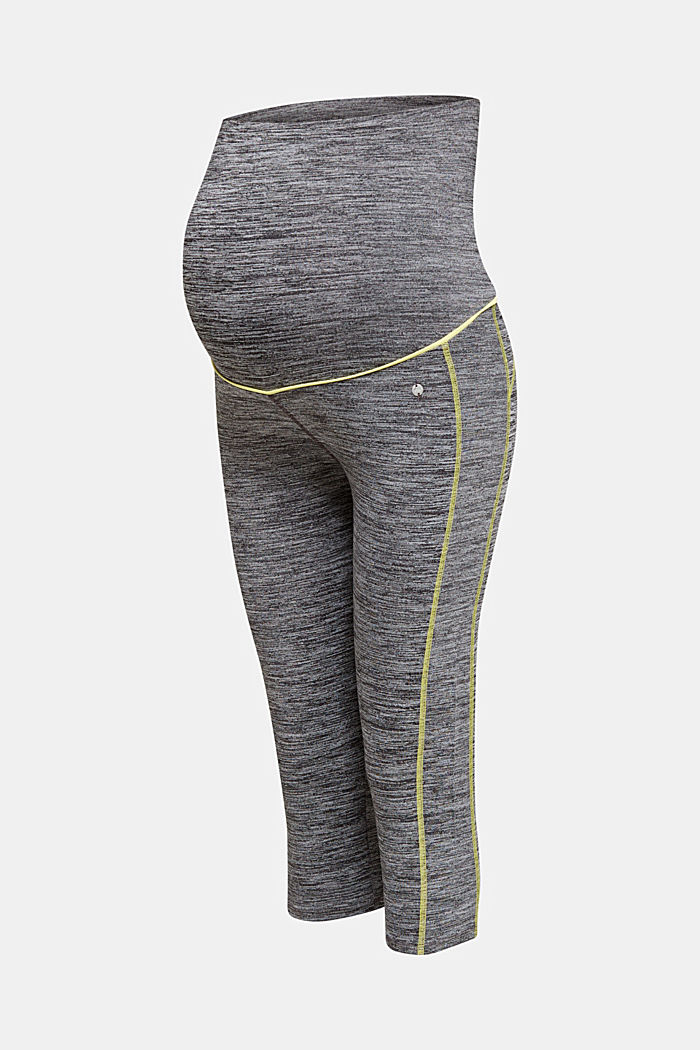 Leggings capri con faja premamá, MEDIUM GREY, detail image number 6