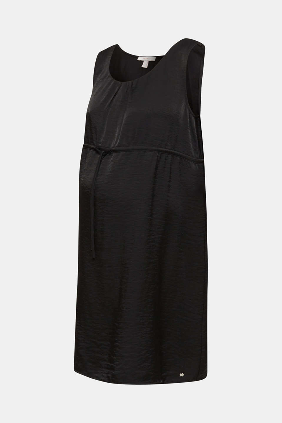 Woven dress with drawstring, LCBLACK, detail image number 5