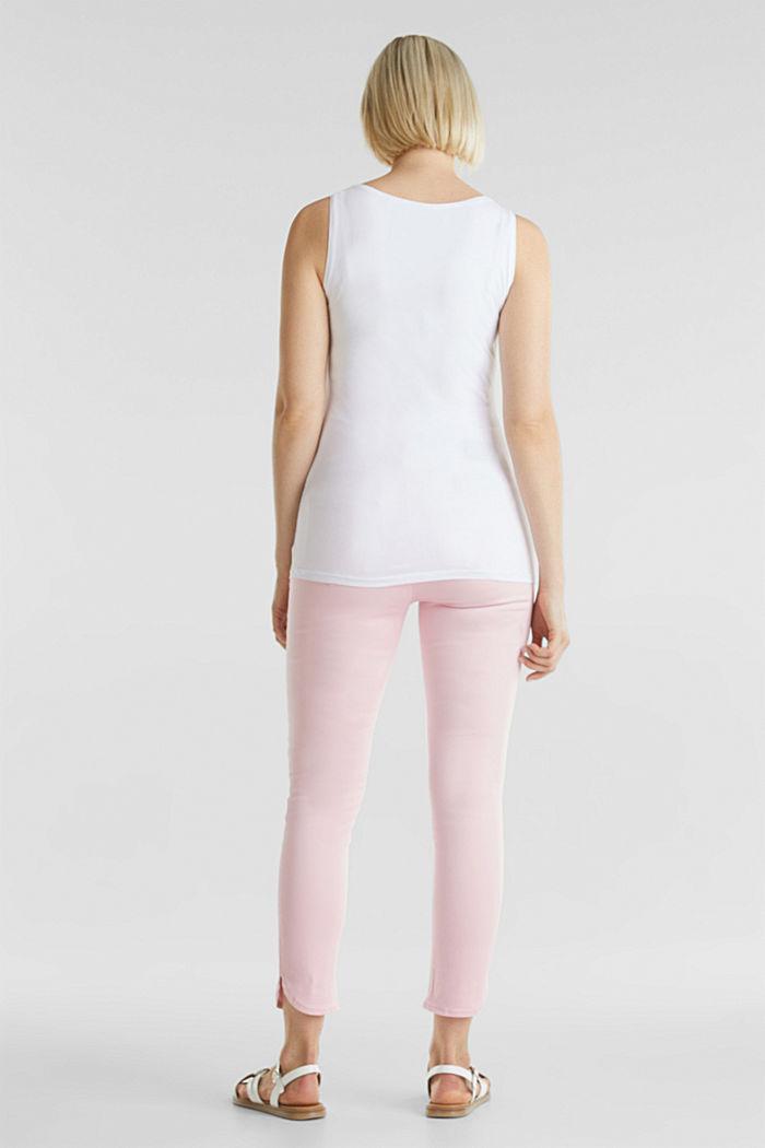 Pantalon 7/8 stretch à ceinture de maintien, LIGHT PINK, detail image number 3