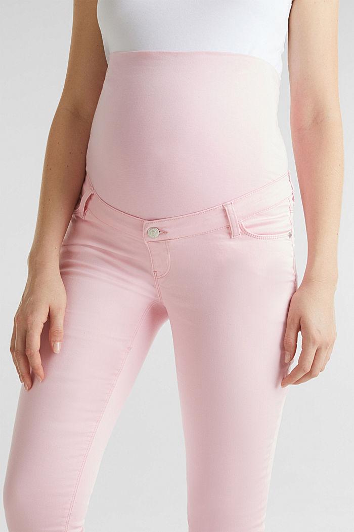 Pantalon 7/8 stretch à ceinture de maintien, LIGHT PINK, detail image number 2