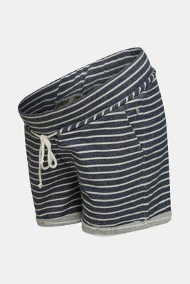 Shorts with an under-bump waistband, NAVY, detail