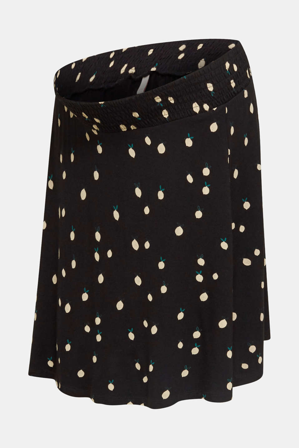 Stretch jersey skirt with a comfortable waistband, LCBLACK, detail image number 7