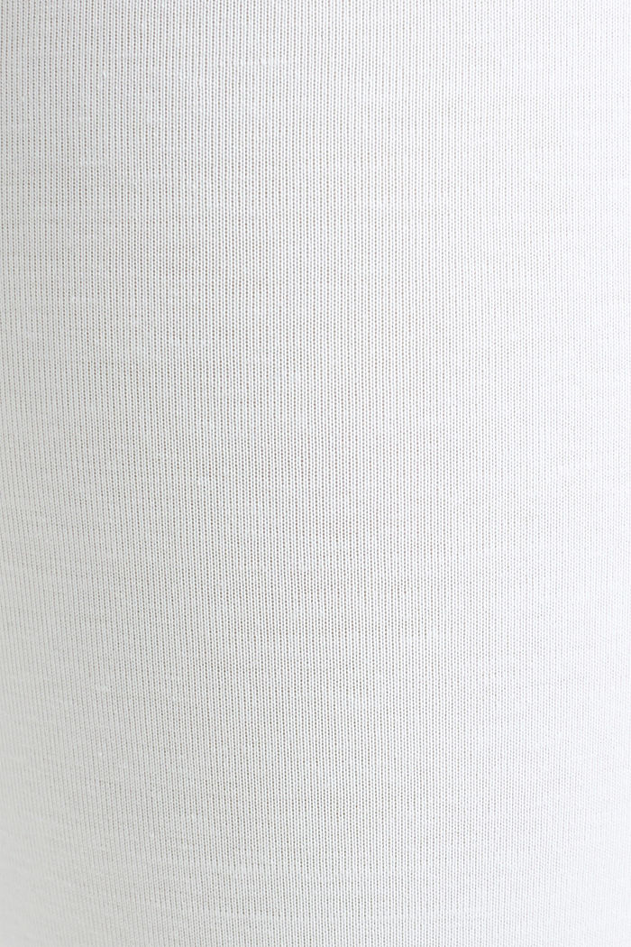 Capri leggings + under-bump waistband, WHITE, detail image number 1