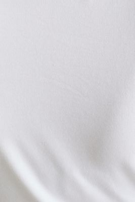 Stretch T-shirt with watercolour print, LCWHITE, detail