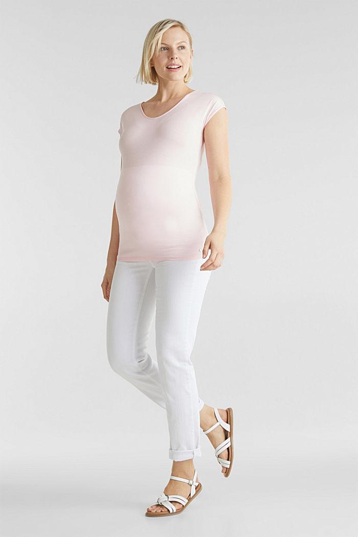Stretch-Shirt mit rückseitigem Cut-Out, LIGHT PINK, detail image number 1