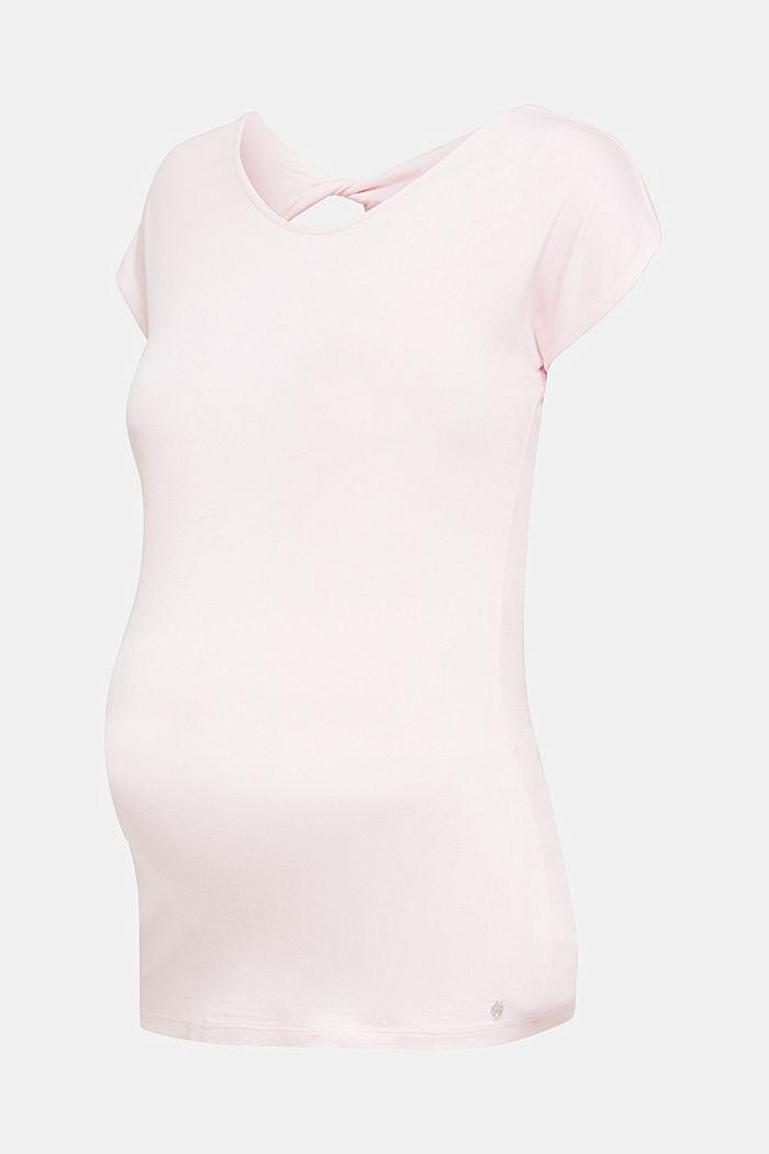 Stretch-Shirt mit rückseitigem Cut-Out, LIGHT PINK, detail image number 7