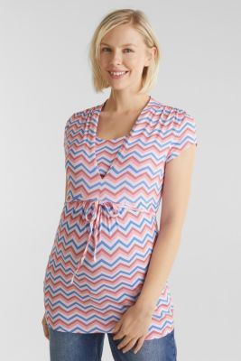 Stretchy nursing top, LCCORAL, detail