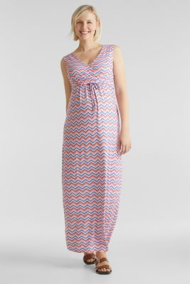 Stretch jersey dress with a nursing function, LCCORAL, detail