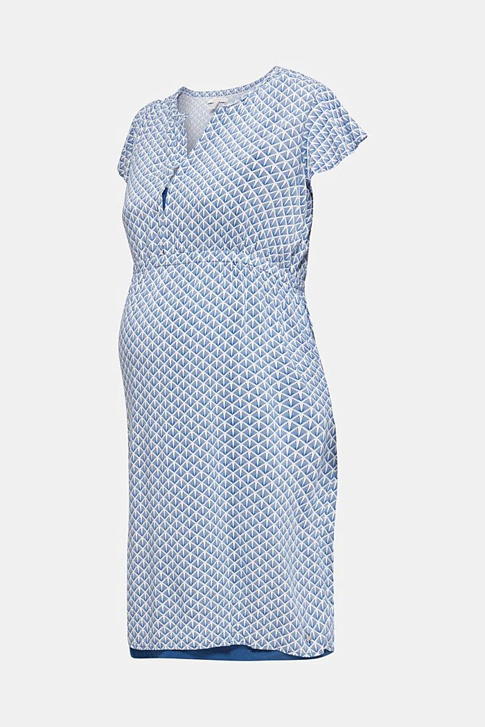 2-in-1-Web-Kleid mit Stillfunktion