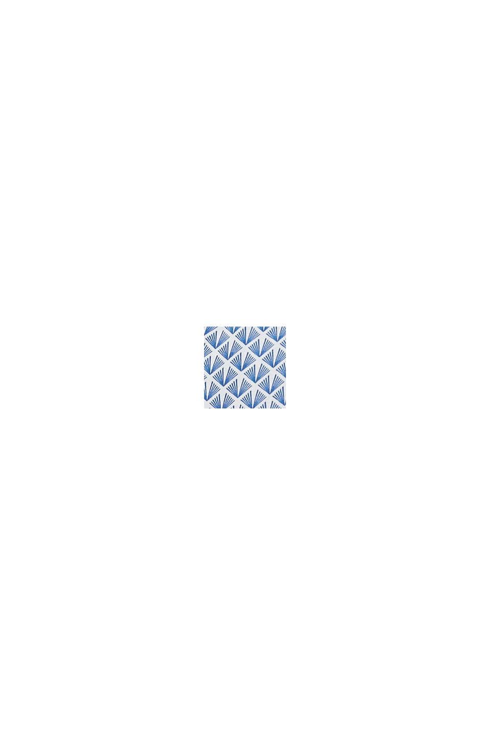 Vävd 2-i-1-klänning med amningsfunktion, GREY BLUE, swatch