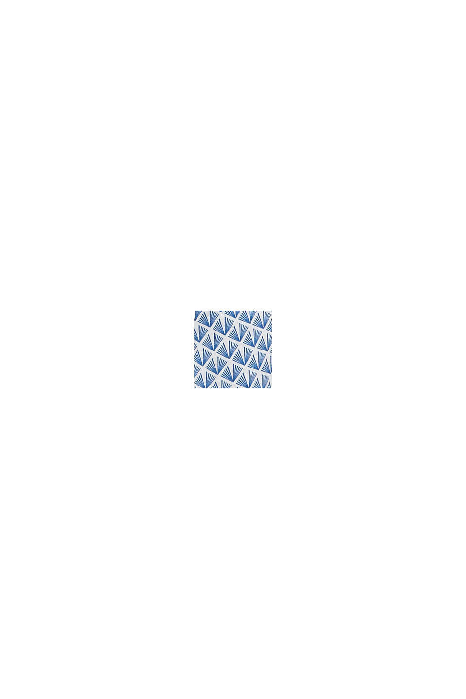 Szorty z tkaniny z panelem, GREY BLUE, swatch