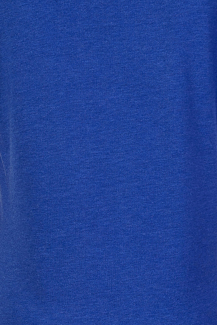 Bequemes T-Shirt mit Stretch, ELECTRIC BLUE, detail image number 3