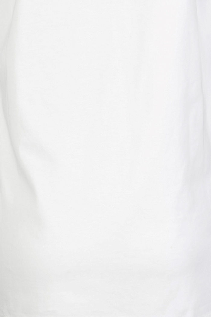 T-Shirt aus 100% Bio-Baumwolle, VANILLA WHITE, detail image number 3