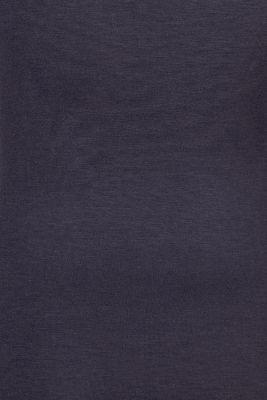 Long sleeve nursing top, LENZING™ ECOVERO™, NIGHT SKY BLUE, detail