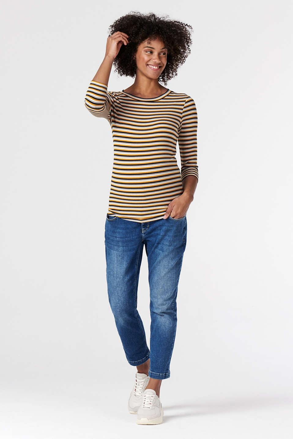 Esprit - striped T-shirt