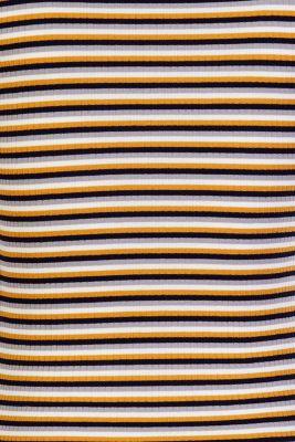 striped T-shirt, CHINESE YELLOW, detail