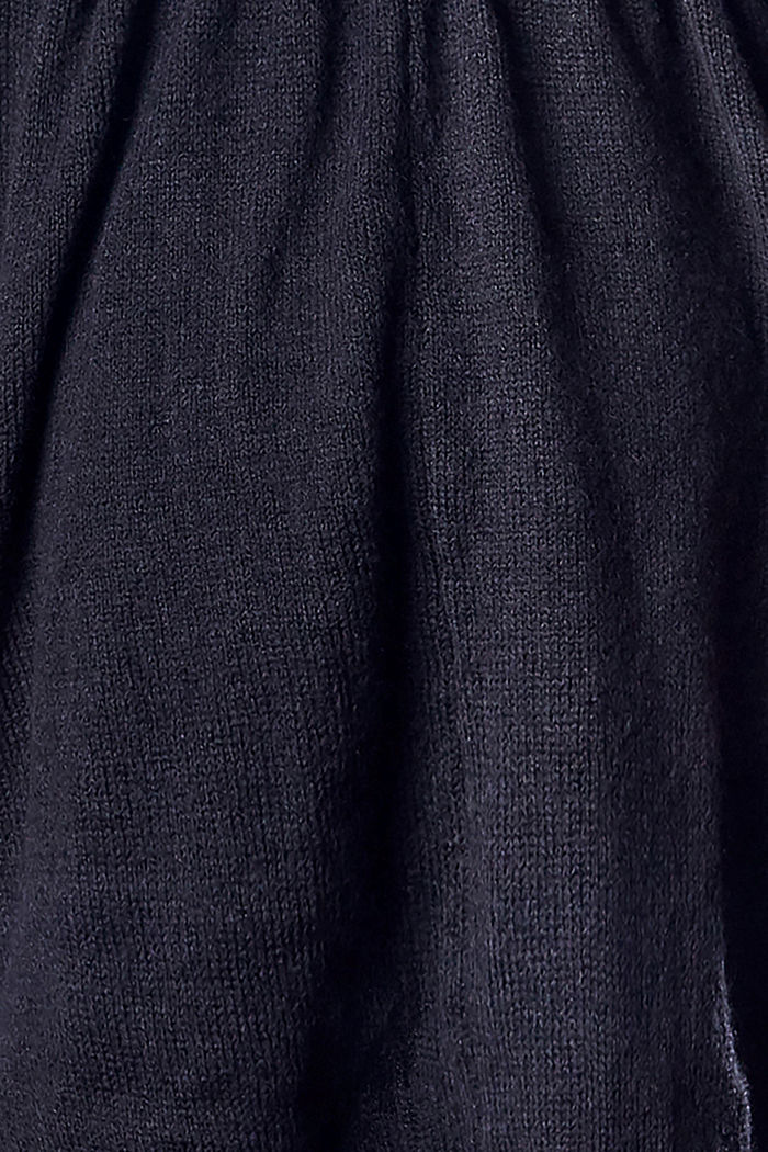 Open-fronted cardigan with a belt, NIGHT SKY BLUE, detail image number 2