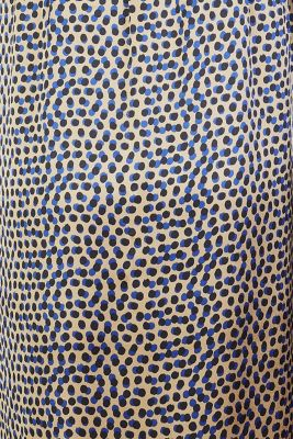 Satin nursing dress, SAND, detail