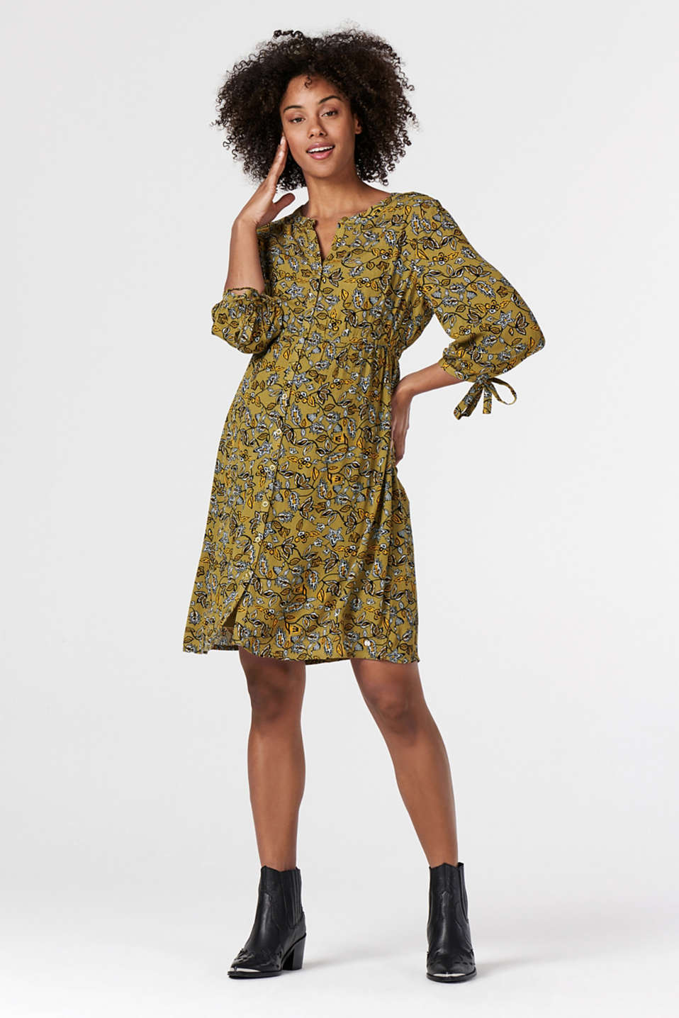 Esprit - Print nursing dress