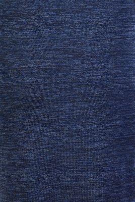 Melange jersey dress with a nursing function, NIGHT SKY BLUE, detail