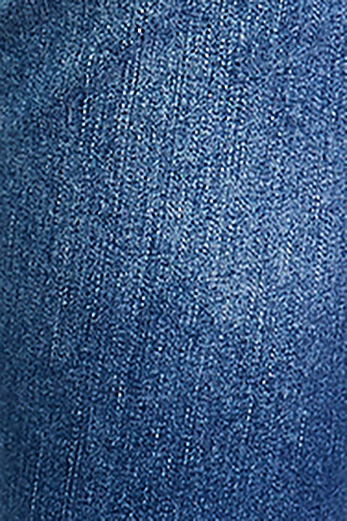 Stretch-Jeans mit Überbauchbund, BLUE MEDIUM WASHED, detail image number 3