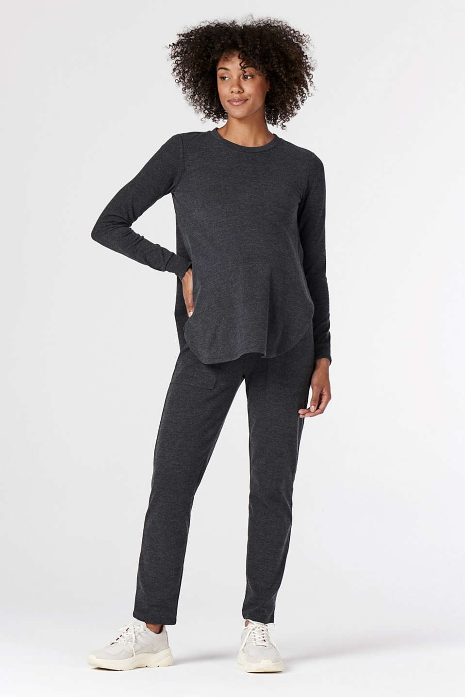 Esprit - Long sleeve top, suitable for breastfeeding