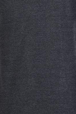 Long sleeve top, suitable for breastfeeding, ANTHRACITE MELANGE, detail