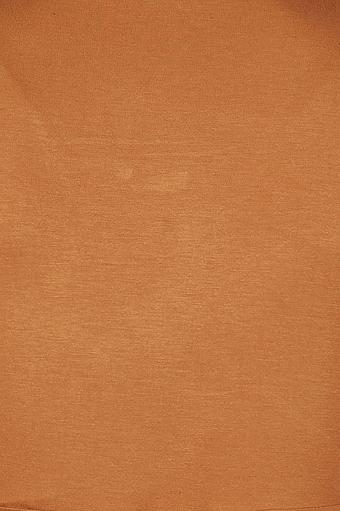 Long sleeve nursing top, LENZING™ ECOVERO™, RUST, detail image number 4