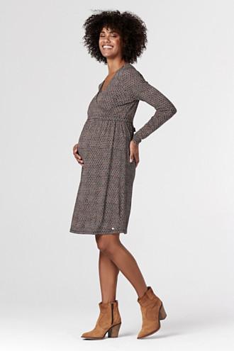 Jersey nursing dress