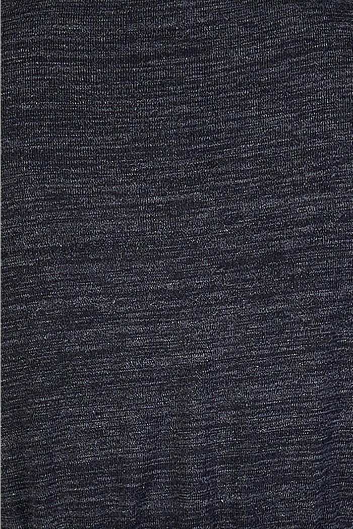 Meliertes Jersey-Kleid mit Stillfunktion, GUNMETAL, detail image number 4