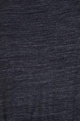 Melange jersey dress with a nursing function, GUNMETAL, detail