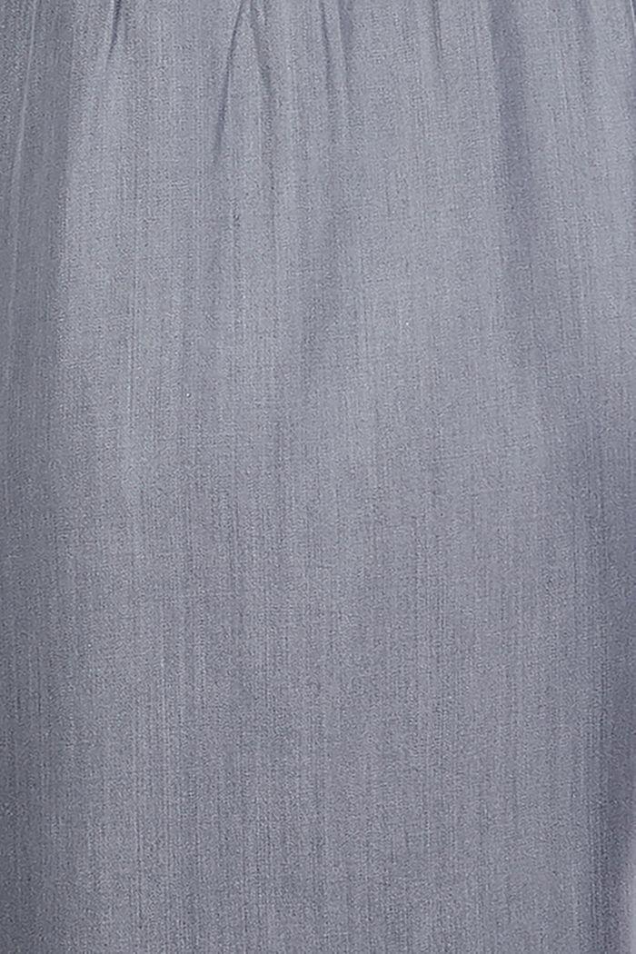 Stillfreundliches Blusenkleid aus Lyocell, GREY DENIM, detail image number 3