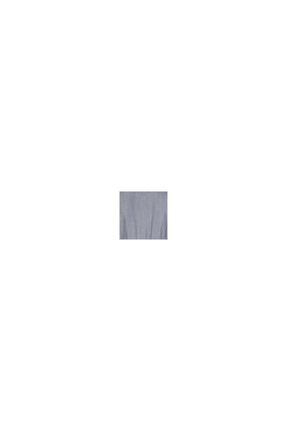 Robe chemisier d´allaitement en lyocell, GREY DENIM, swatch