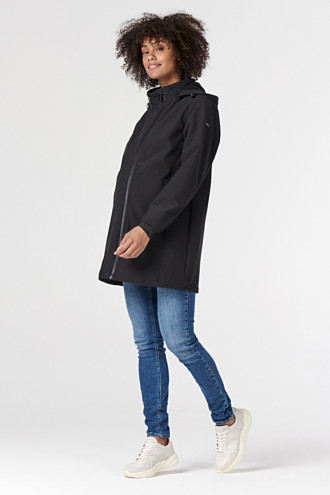 Adjustable three-in-one softshell jacket