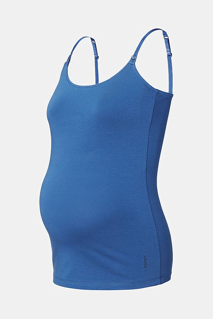 Stretch-Top mit Stillfunktion, CINDER BLUE, detail image number 5