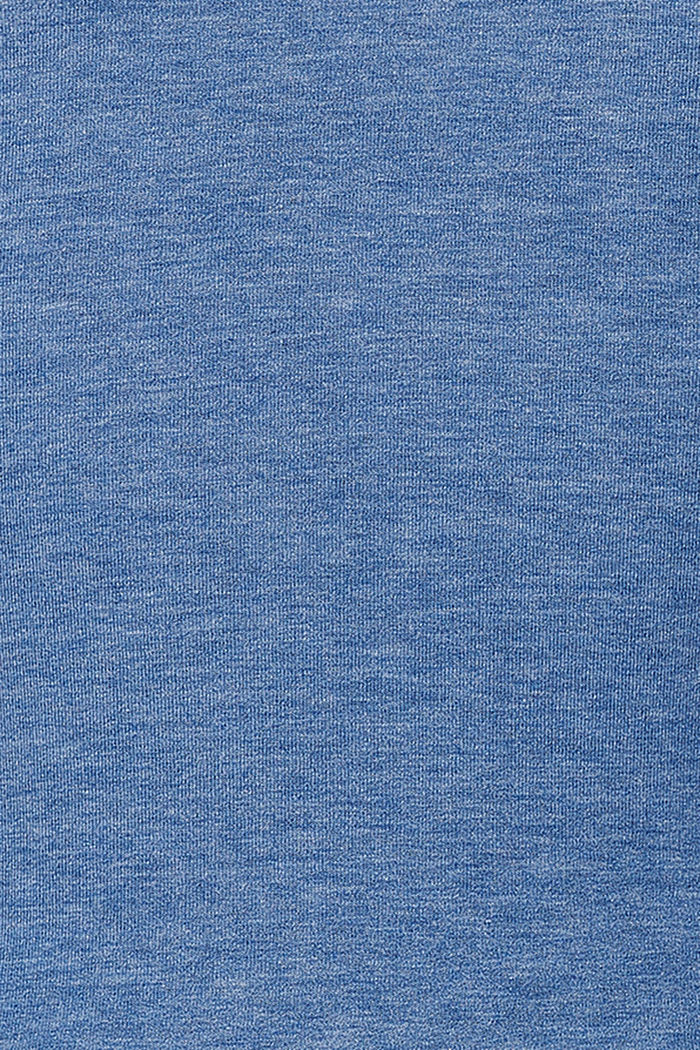 Layer-Longsleeve mit Stillfunktion, CINDER BLUE, detail image number 3