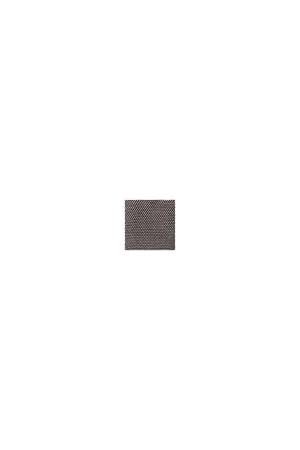 Cardigan med tofarvet struktur, COFFEE, swatch
