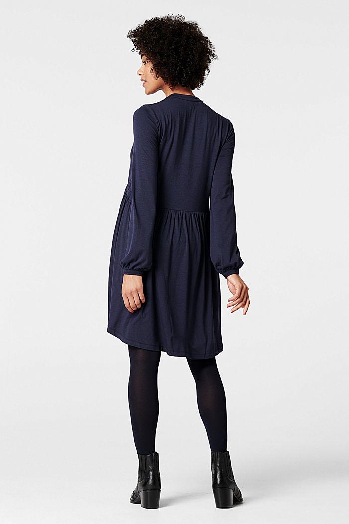 Fließendes Jersey-Kleid mit Stillfunktion, NIGHT SKY BLUE, detail image number 2
