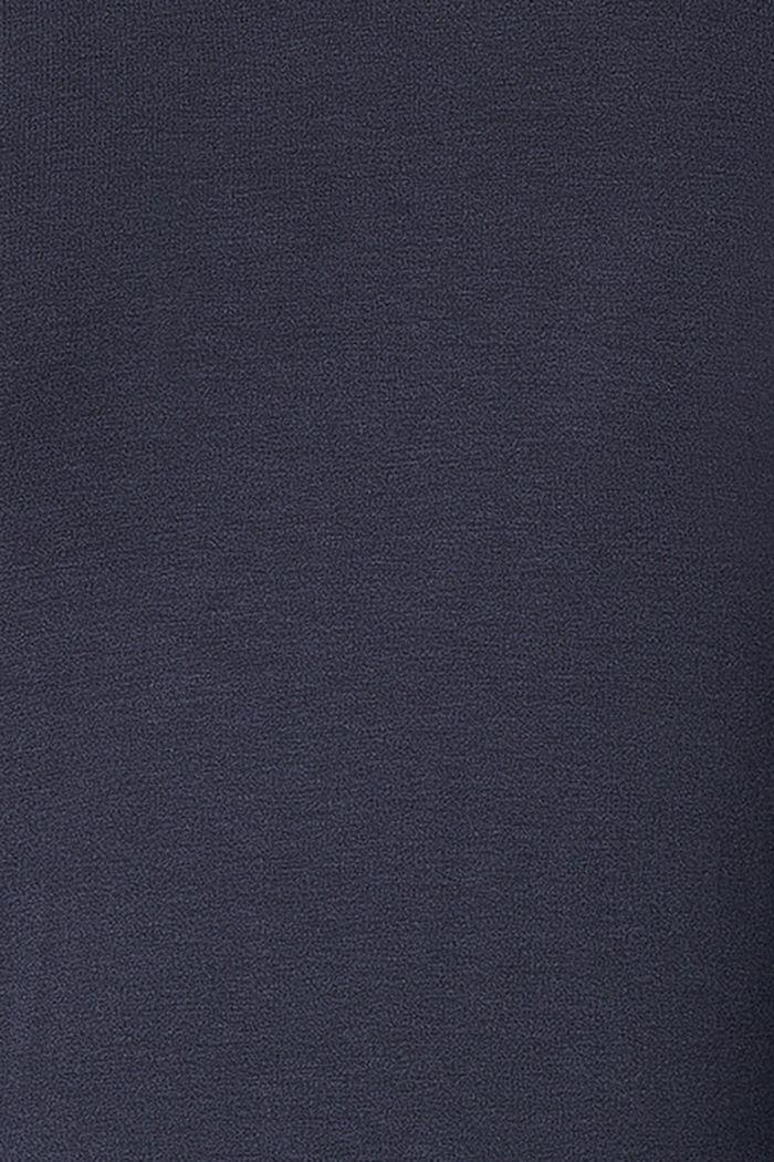 Fließendes Jersey-Kleid mit Stillfunktion, NIGHT SKY BLUE, detail image number 4