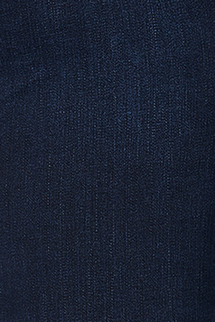 Stretch jeans with an over-bump waistband, BLUE DARK WASHED, detail image number 2