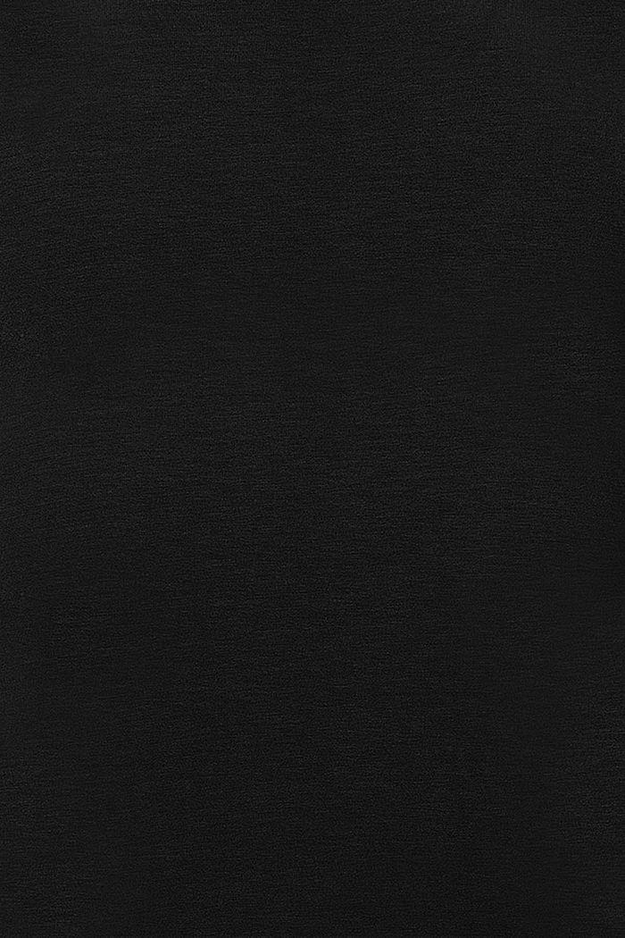 T-shirt med ammefunktion, LENZING™ ECOVERO™, BLACK, detail image number 4