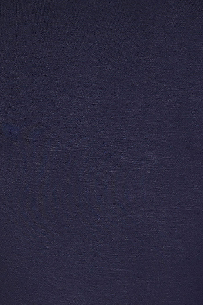 Still-Longsleeve, LENZING™ ECOVERO™, NIGHT BLUE, detail image number 4