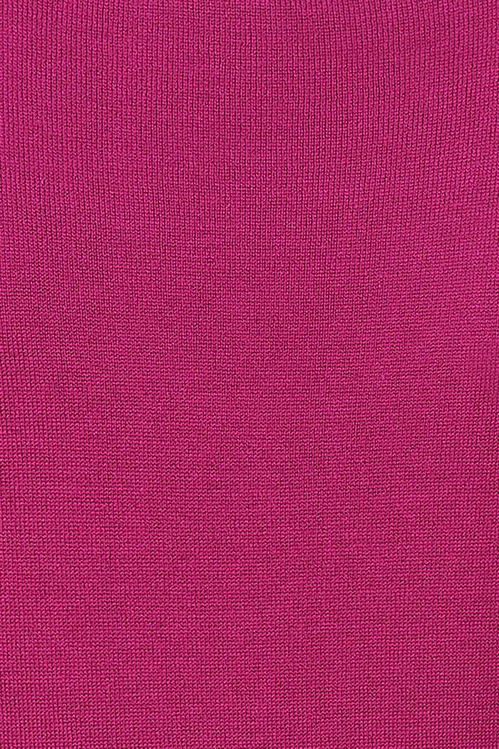 Feiner Strick-Pullover mit Gürtel, CREAMY BERRY, detail image number 2