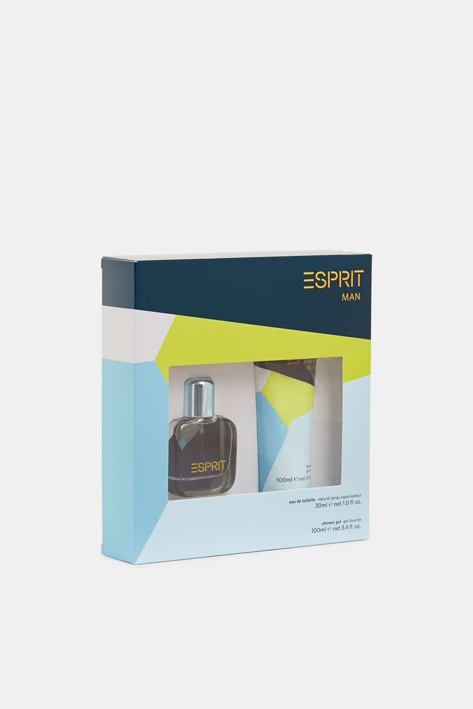 ESPRIT Man eau de toilette and shower gel, one colour, detail image number 0