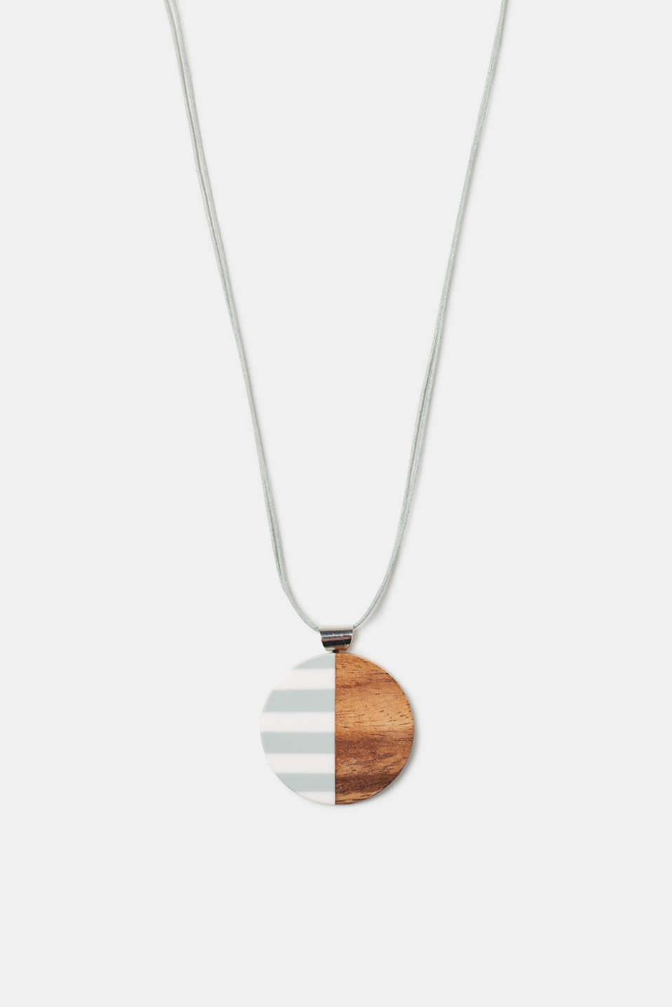 Esprit - Long necklace with a round pendant