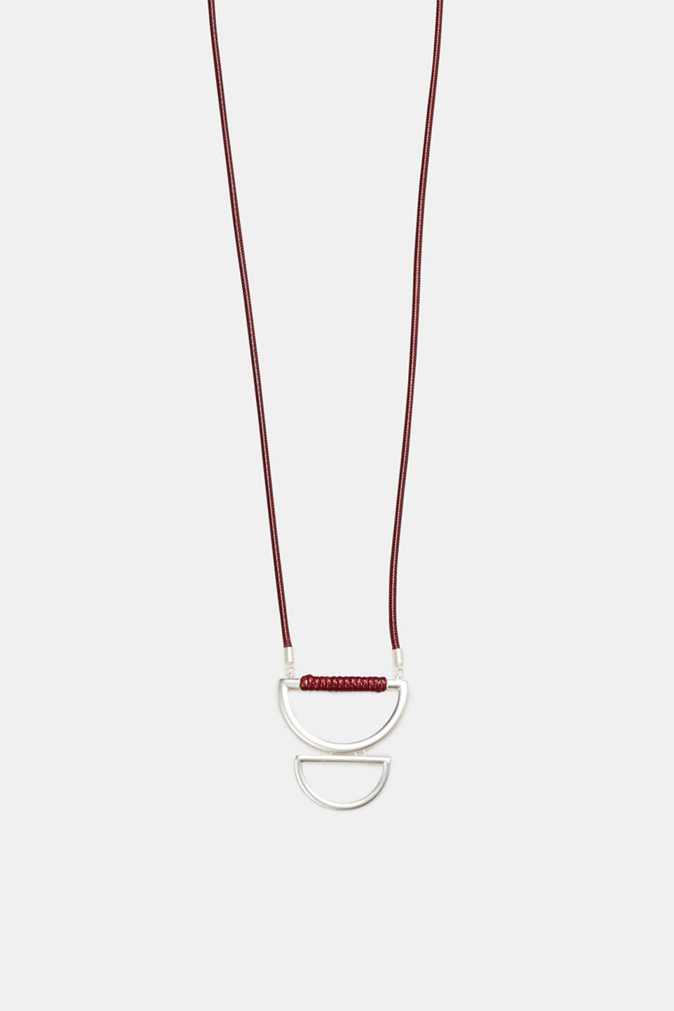 Esprit - Long necklace with a graphic pendant