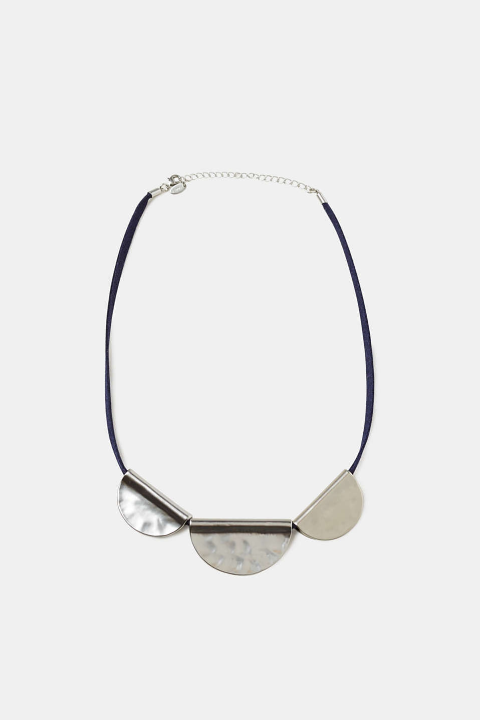 Esprit - Necklace with matte metal discs