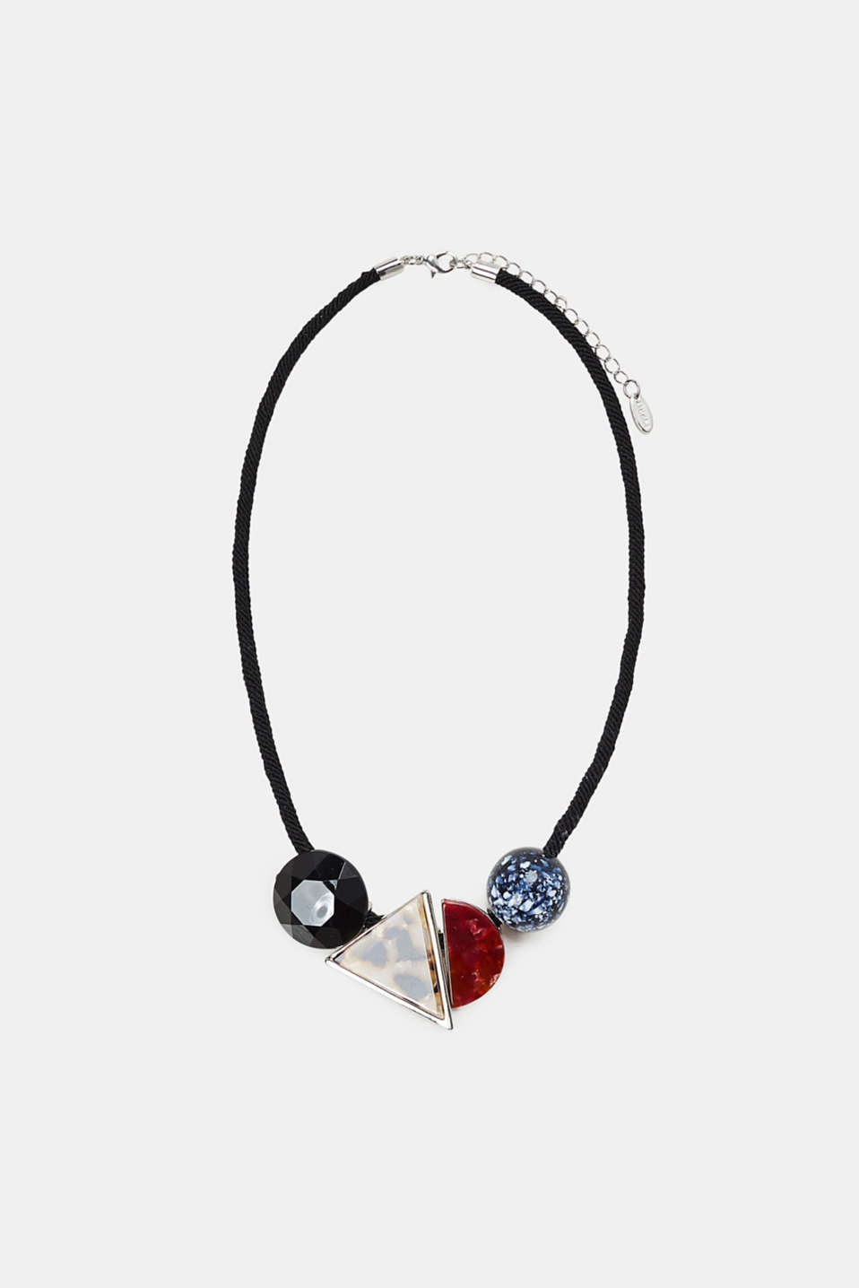 Esprit - Short necklace with mixed pendants