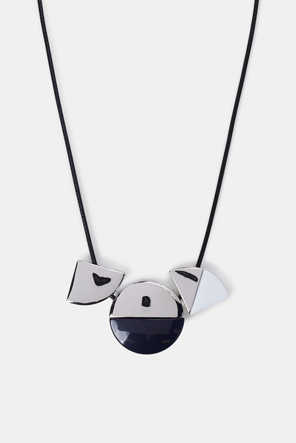 Esprit - Necklace with geometric pendants
