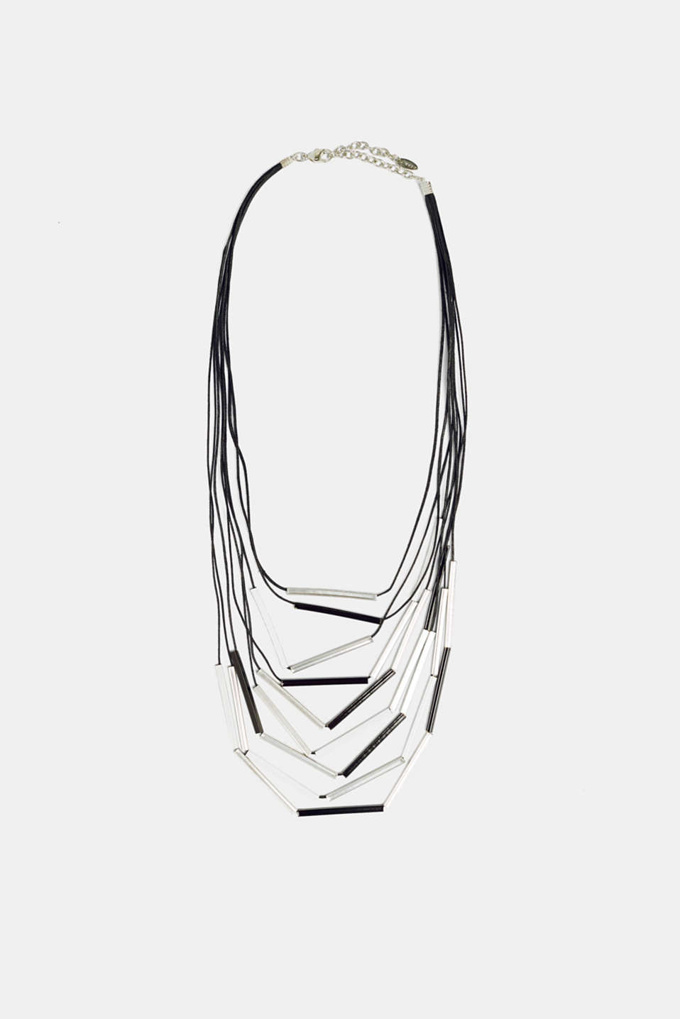 Esprit - Multi-strand necklace with metal pendants